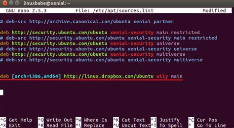 dropbox ubuntu how to install dropbox on ubuntu 16 04 linuxbabe com
