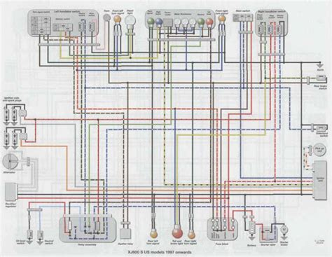 wiring diagram xj 600 images wiring diagram sle and guide