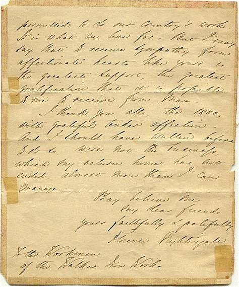 lettere firenze florence nightingale letter to the workmen of newcastle