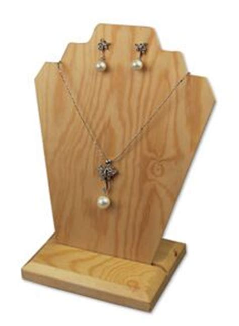 Necklace Jewelry Display Stands, Fashion Necklace Display Forms, Chain Display Stands