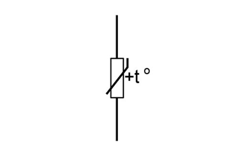 normal resistor symbol ptc thermistor positive temperature coefficient electronics notes
