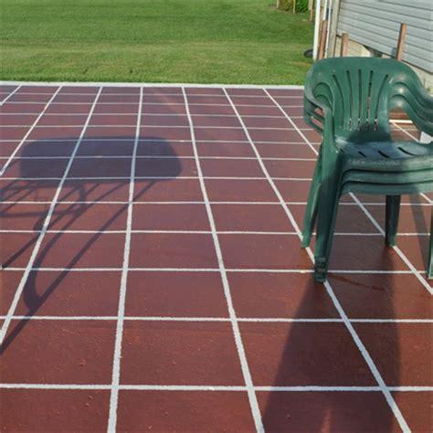 home dzine garden paint concrete slab or patio