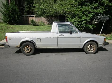 truck harrisburg pa 1982 volkswagen rabbit v4 manual truck for sale