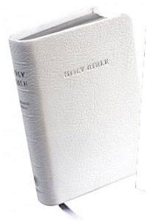 Leather Wedding Bible by Kjv Wedding Bible White Morocco Leather Celebrate