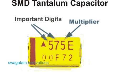 smd capacitor number code understanding capacitor codes and markings
