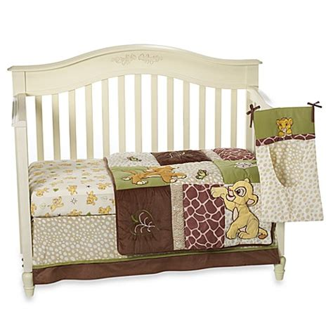 lion king crib bedding set disney baby 174 lion king go wild 4 piece crib bedding set