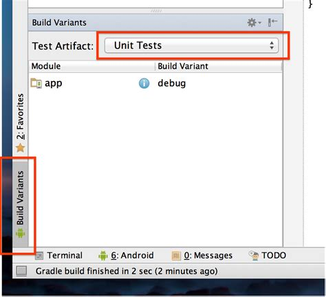 android studio unit test tutorial java robolectric androidstudio could not find method