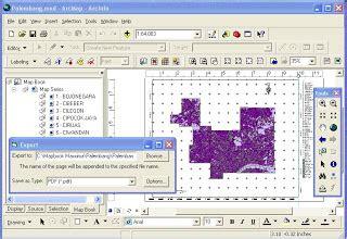 kumpulan tutorial arcgis b a s e m a p s export layout berseri dalam arcgis