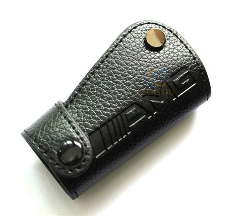 purchase mercedes amg real leather remote key cover