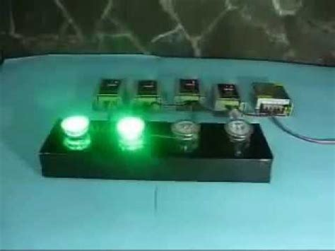 kontrol lu led warna warni