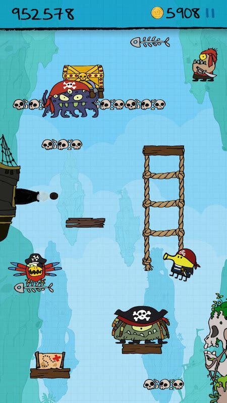 doodle jump levels doodle jump krijgt piratenlevel