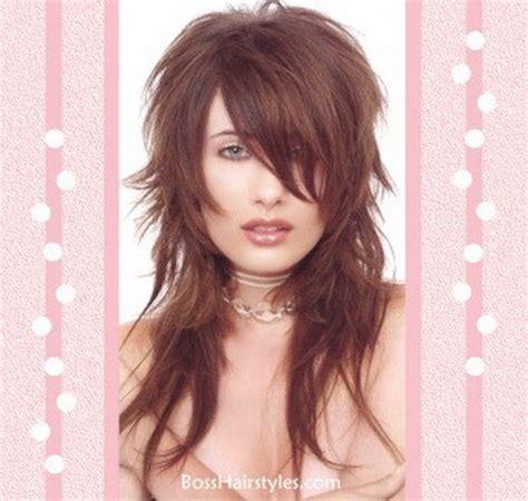 corte de pelo escalonado largo corte de pelo largo escalonado