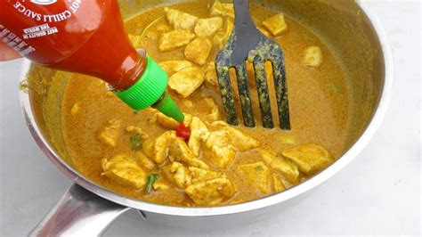Panang Curry Taste panang curry recipe with chicken simple tasty