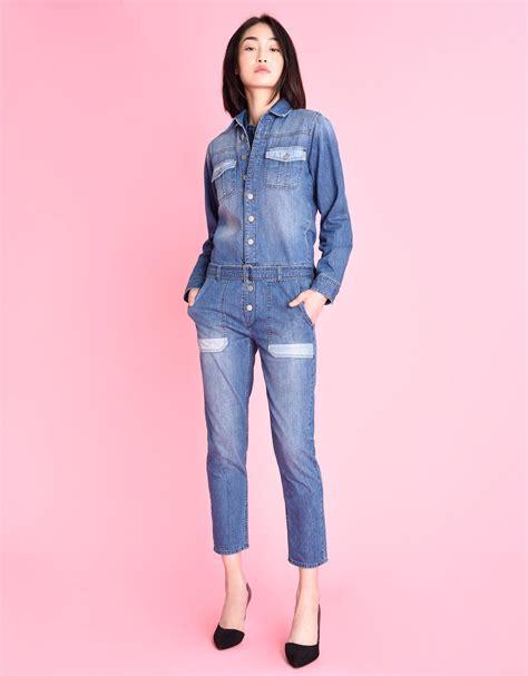 Leo Denim combinaison en jean pour femme leo reiko
