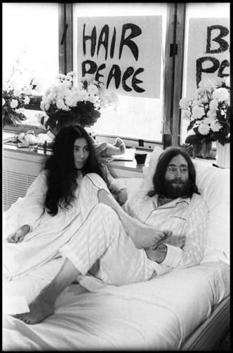 imagenes john lennon y yoko ono john lennon y yoko ono desde la cama por la paz 46 a 241 os