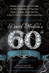 free the diva bling diamond numbers birthday invitations
