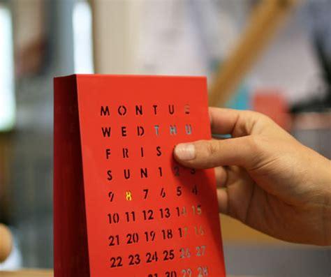 Blockers Date Perpetual Calendar By Block Design Milk