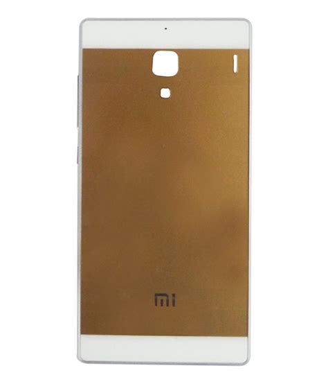 xiaomi 1s backcover envy back cover for xiaomi redmi 1s gold buy envy back