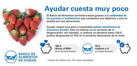 donaciones banco de alimentos de huelva