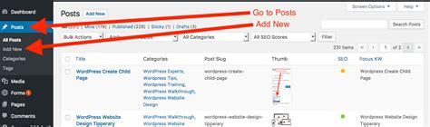 artikel membuat layout website membuat dan posting artikel di wordpress tutorial web
