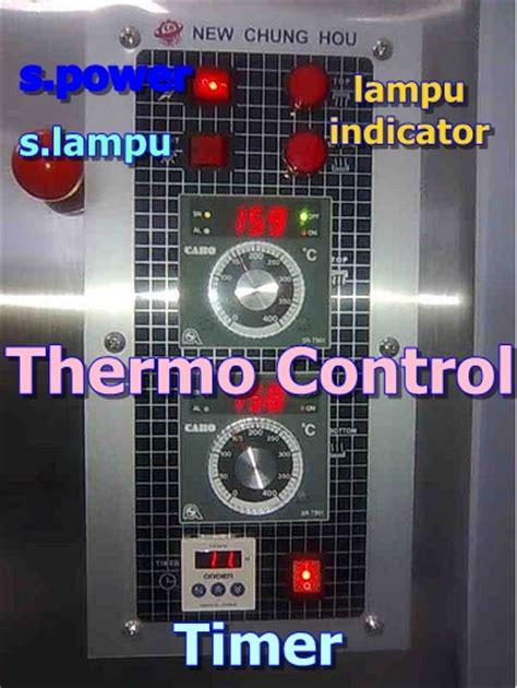 Oven Roti Otomatis mengenal fungsi panel oven roti otomatis mesin roti