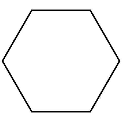 Hexagon Shape - file regular hexagon svg