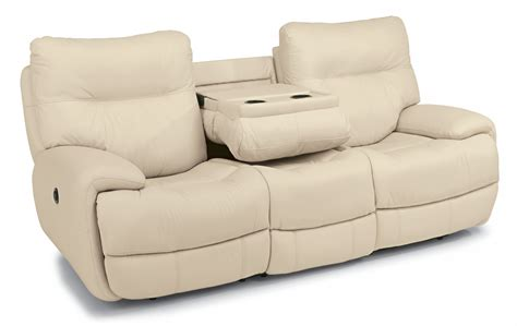dual reclining sofa with console living room img leather power reclining sofa furniture