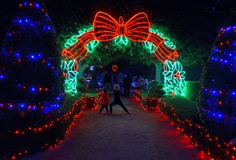 hunter valley gardens christmas lights spectacular 9th