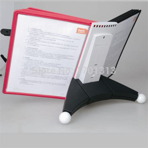 desk document holder stand new a4 paper file folder reading stand document holder