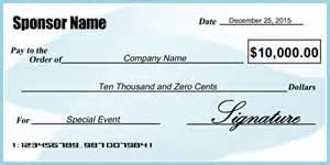 oversized check template blue and white presentation check signazon