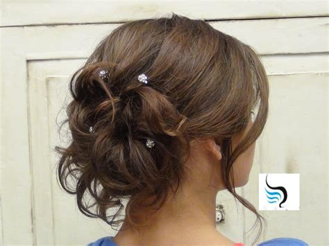 wedding hair and curled curly bun hairstyles for prom soft curled updo for