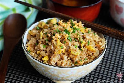 japanese ricer japanese garlic fried rice bear food