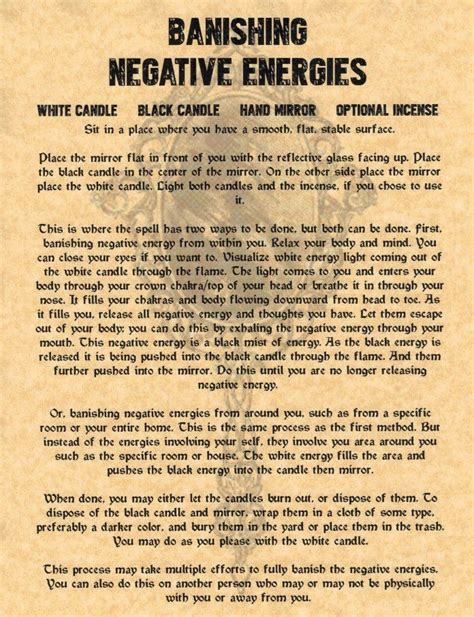 clearing negative energy 25 best ideas about banishing spell on pinterest magick