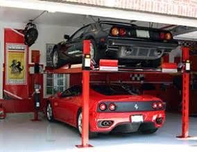 Post car lift for home garage residential car lift backyard buddy