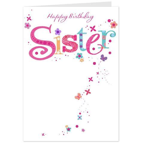 Happy 1st Birthday Cards Happy 1st Birthday Cards Happy Birthday Sister Card