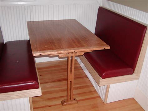 Booth Kitchen Tables Cherry Booth Table