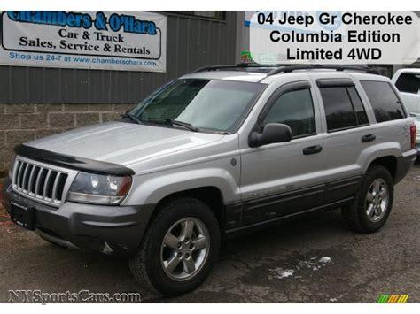 gray jeep grand cherokee 2004 2004 jeep grand cherokee columbia edition 4x4 in bright
