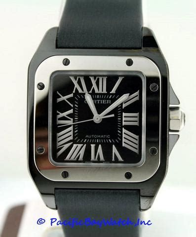 cartier santos  mid size  pacific bay