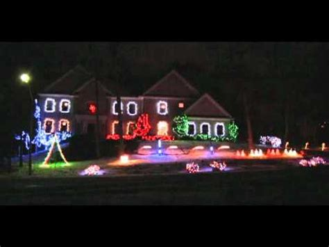 animated christmas light show amazing grace youtube
