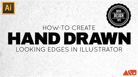 hand drawn lettering tutorial illustrator how to create hand drawn looking edges in adobe