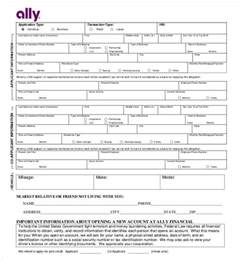 Car Dealer Credit Application Template Auto Credit Application Form Pdf Images