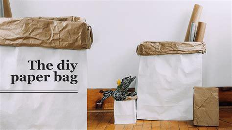 How To Make A Big Paper Bag - diy paper bag the sorry