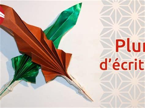 Origami Quill Pen - origami tuto etoiles en papier origami transformer
