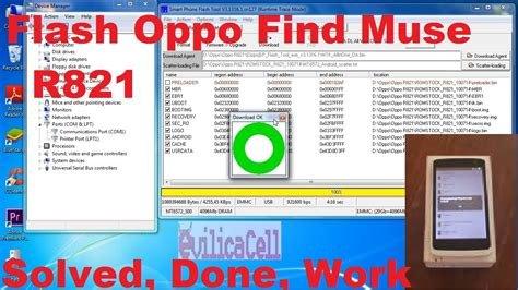 tutorial flash ulang oppo r821 tutorial flashing oppo r821 find muse update berhasil