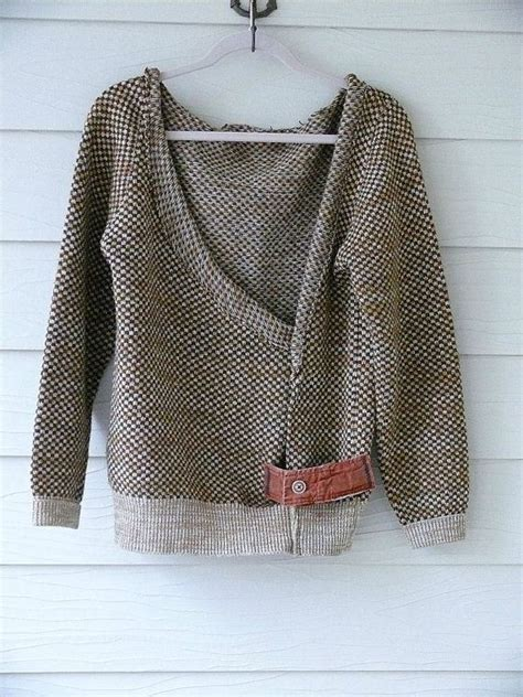 small medium shabby chic sweater by