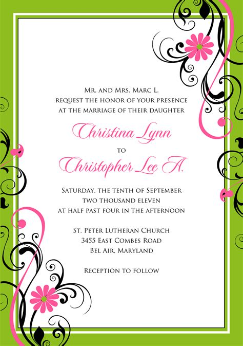 free invitation card designs 5 signatures by wedding stationery for