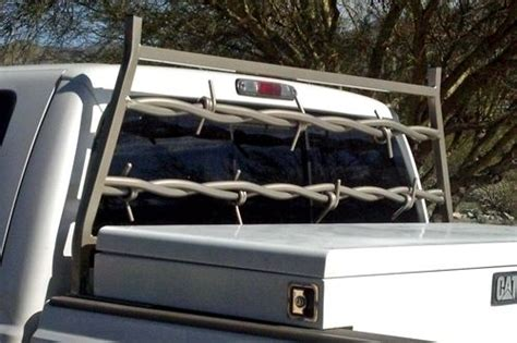 barbed wire cave creek designs truck headache back rack