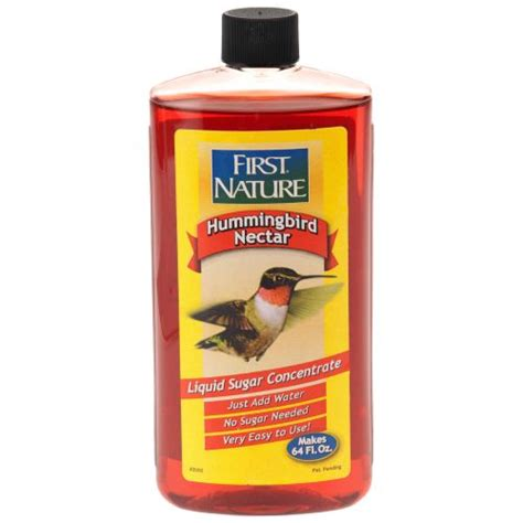 first nature 16 oz red hummingbird nectar concentrate