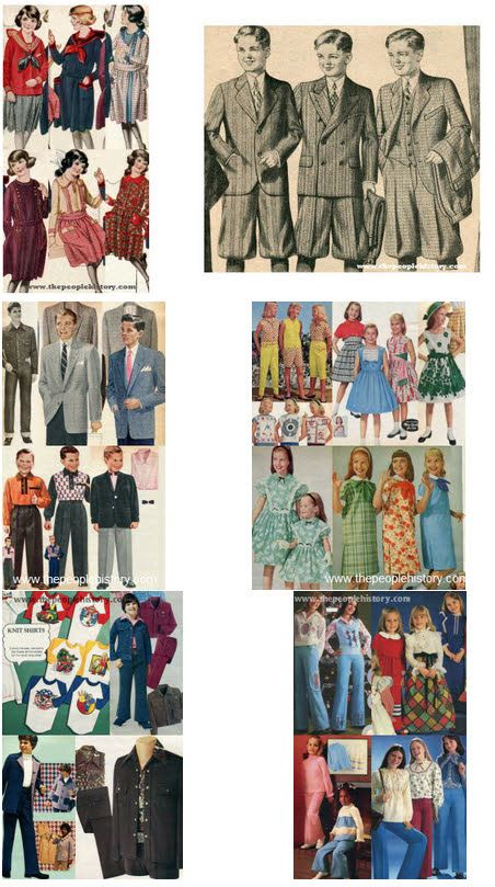 hair styles over the decades fashions and clothes styles from 50 years what do you remember