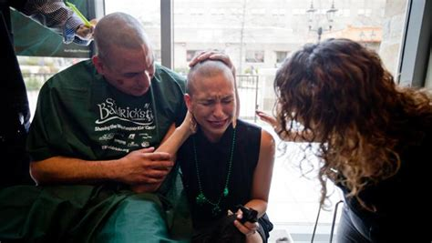 forced to shave in prison st john s shaves heads for juvenile cancer patients ny